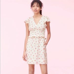Rebecca Taylor | Maui Fleur Dot Jacquard Dress